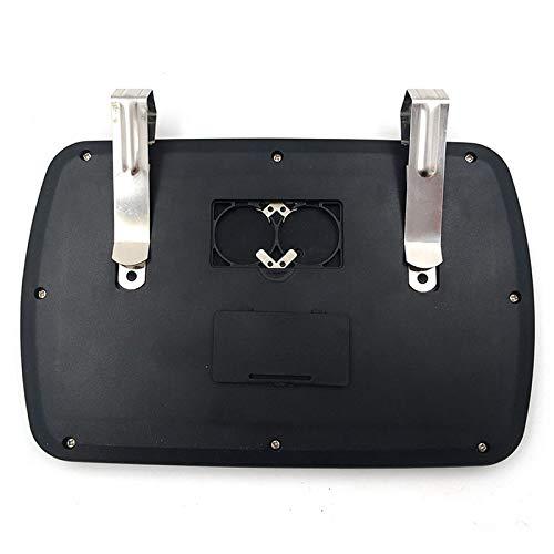 cami/ón Espejo retrovisor SUV Espejo de Maquillaje para Coche con Visera LED HD y luz LED Desmontable para Coche MIBANG