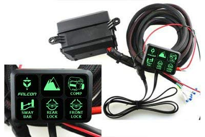 S-TECH Universal Switch System with Six 30A circuits Plug/Play custom wire harness -