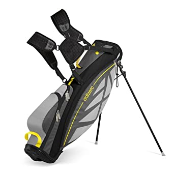 acidez Digno lana  Adizero Lightweight Stand Bag Grey-Vivid Yellow One Size: Amazon ...
