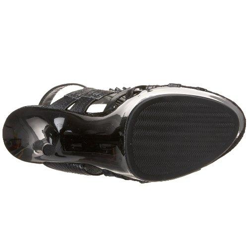Polyurethane Platform Heel Highest Sandal Black Kid The Women's qp6Rw7