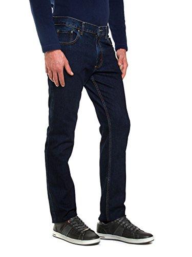 010 Oscuro Vaqueros Carrera Azul Relaxed Lavado para Jeans Hombre XnYFgR