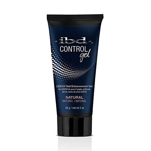 IBD Pro-Hybrid Nail Control Gel, Natural Color, LED/UV Nail Enhancement Gel ()