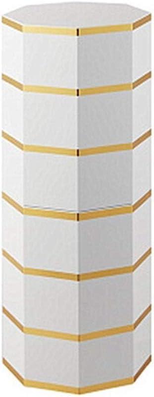 Gabinete de almacenamiento de calzado Creativa giro de 360 grados del zapato Gabinete moderna simple de la Ronda cilíndrico Porche Pintura lacada Pasillo Gabinete (Color : Oro , tamaño : 6 floors) : Amazon.es: Hogar