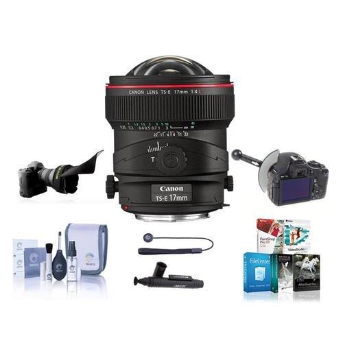 Canon TS-E 17mm f/4L Tilt-Shift Manual Focusing Lens