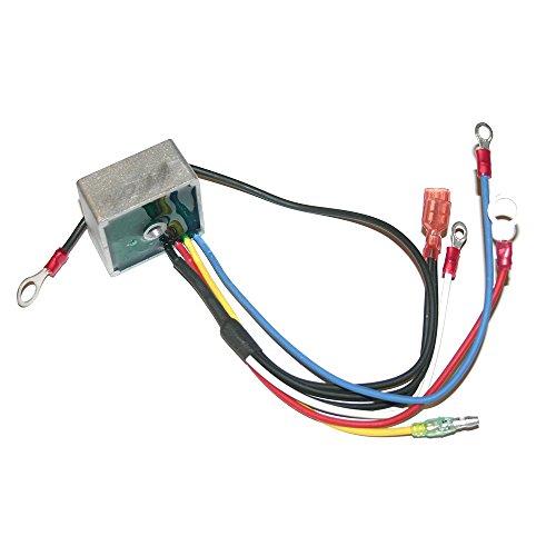 Club Car 102803401 Voltage Regulator, With Key Start Only