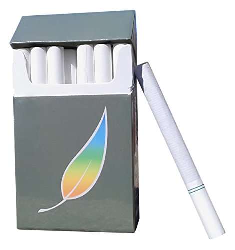 Cigarettes Marlboro (AMERICAN BILLY - Green Tea Herbal Cigarettes, 4 pack Sampler -Non Tobacco - Non Nicotine Cigarette Alternatives - (All 4 packs of Regular flavor))
