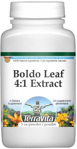 Extra Strength Boldo Leaf 4:1 Extract Powder (1 oz, ZIN: 511250)