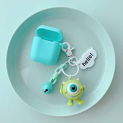Twinlight for airpods Earphone Soft Bag Universal Phone Hook up Strap Cartoon Minnie Donald Monsters String Stitch Daisy Winnie Wrist Band (Style4) (Zelda Phone Charm)