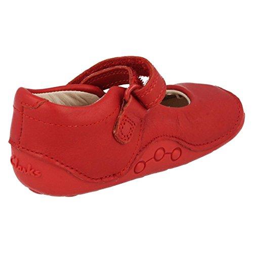Clarks Little Boo Mädchen Prewalkers Rot