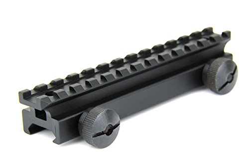 TacFire 3/4 inches High Pica tinny Riser Mount for Scopes and Red Dot Sights