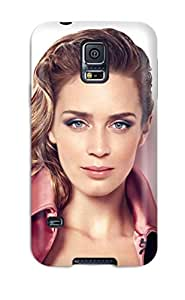 Galaxy S5 Case, Premium Protective Case With Awesome Look - Emily Blunt