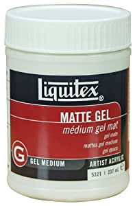 Liquitex Professional Matte Gel Medium, 8-oz