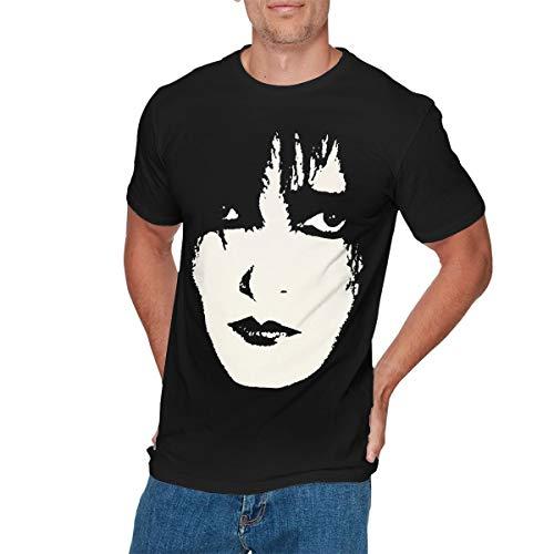 COREY HUTCHINSON Mens Funny Siouxsie T Shirts XL Black -