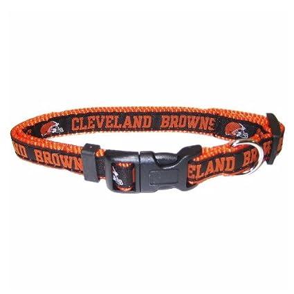 de1976aff Amazon.com   Pets First NFL Cleveland Browns Collar