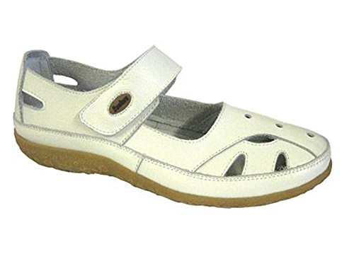 Ballerina Footwear White Summer Womens Coolers Studio Mary Jane Shoes Leather wqrqf7xY