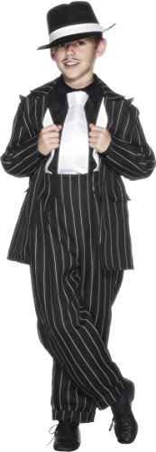 [Child Gangster Zoot Suit Costume] (Gangster Costumes For Halloween)