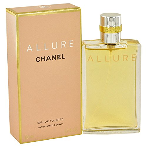 ALLURE WOMEN C H A N E L 1.7 FL oz / 50 ML Eau De Toilette Spray Sealed Box -