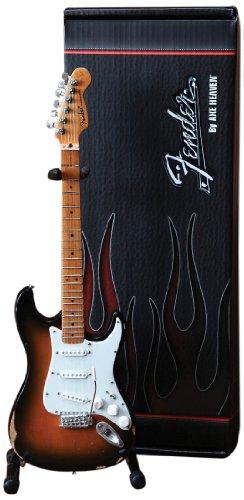 Axe Heaven FS-001 Fender Stratocaster Classic Sunburst Finish Miniature Guitar by AXE HEAVEN