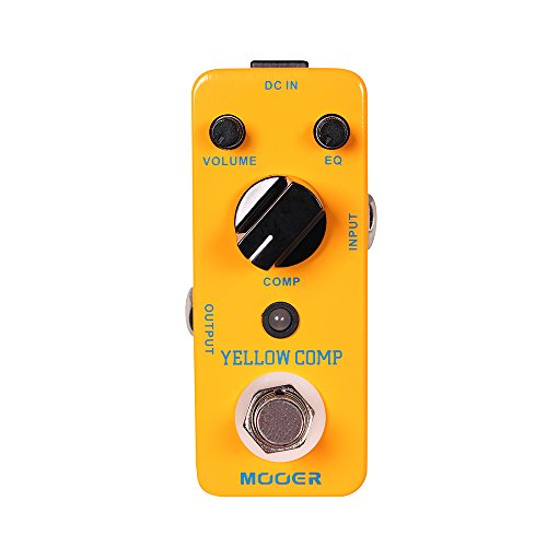 MOOER Yellow Comp Compressor Pedal by MOOER