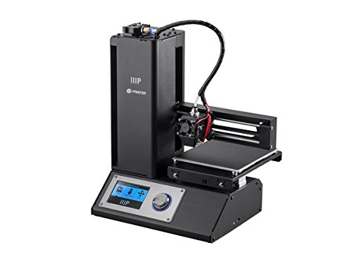 Monoprice Select Mini 3D Printer with Heated Build Plate, Includes Micro SD Card and Sample PLA Filament - 121711 - Black by Monoprice