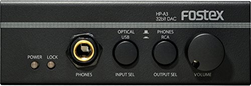 - FOSTEX 32bitDAC headphone amplifier HP-A3