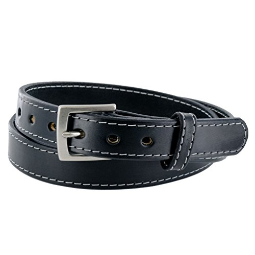 "Hanks Bonnie - Hanks Bonnie - Womens CCW Leather Gun Belt - USA Made - 1.25"" - 100 Year Warranty - BLK - SML"