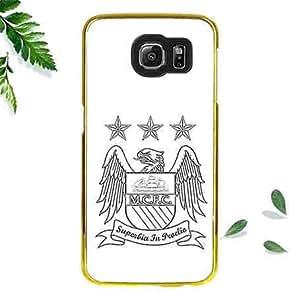 Protective Hard Carcasa For Samsung Galaxy S6 Carcasa,Manchester City Football Club