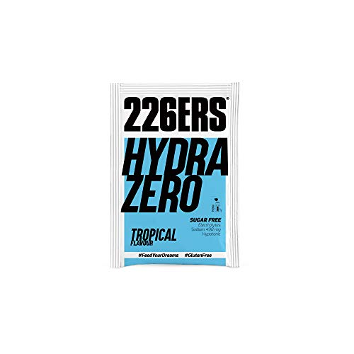 226ers Hydrazero Tropical Hypotonic Endurance Energy Drink (14×7.5gr Pouches) Designed for Endurance Athletes & Athletic Performance. Pro & Age Group Ironmen, Ironwomen, Runners, Cyclists, Swimmers
