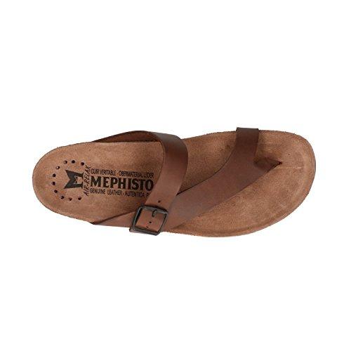 Mephisto Men's Fashion Sandals Dark Brown QFiH9mp