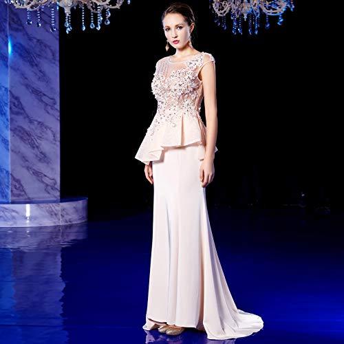 Banquet De Soirée Digne Robe Host Et Cocktailcatwalk En 2019 M Long Nouvelle Toast Vêtements Printemps Traînant Atmosphère Femme Été Bingqz 5qIEwCvI