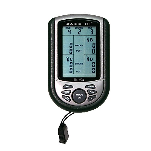 Cassini C-SK3 Digital Golf Score Keeper by Cassini