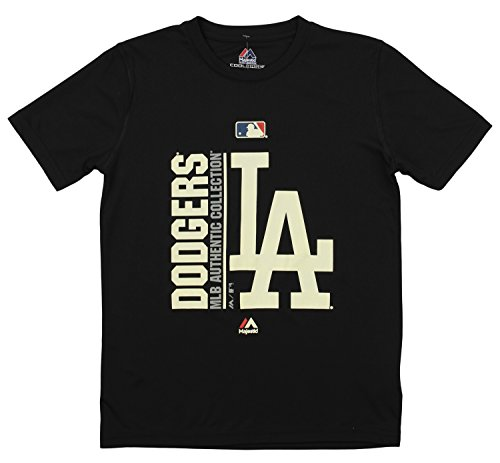 La Dodgers Short Sleeve Shirt - Outerstuff MLB Youth's Short Sleeve AC Team Icon Tee, Los Angeles Dodgers Large (14-16)