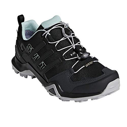 adidas outdoor Women's Terrex Swift R2 GTX Black/Black/Ash Green 8 B US