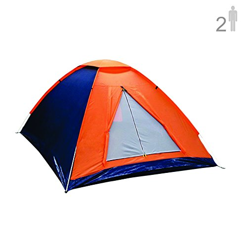 NTK Panda 2 Person 6.7 by 4.7 Foot Sport Camping Dome Tent 2