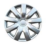 Drive Accessories KT-985-15S/L, Toyota Camry, 15'' Silver Lacquer Replica Wheel Cover, (Set of 4)