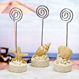 Beach themed placecard holders, 72