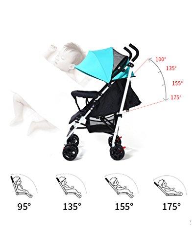 Amazon.com: carriola de bebé puede sentarse puede acostarse ...