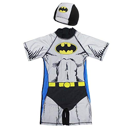 Spiderman Swimsuit,One Piece Bathing Suit Batman Swimming Boys Captain America Kids Sport Baby Beachwear -