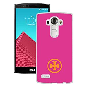 Beautiful And Unique Designed Case For LG G4 With Tory Burch 58 White Phone Case