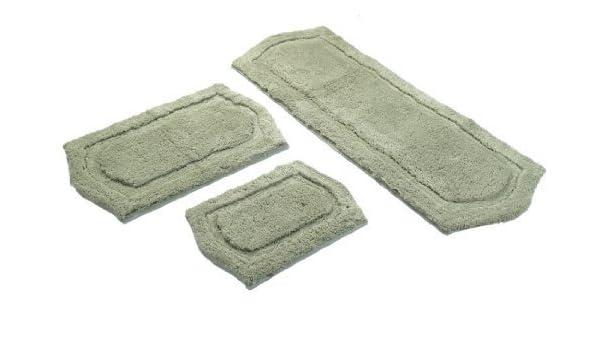 3-Piece Paradise Memory Foam Bath Rug Set
