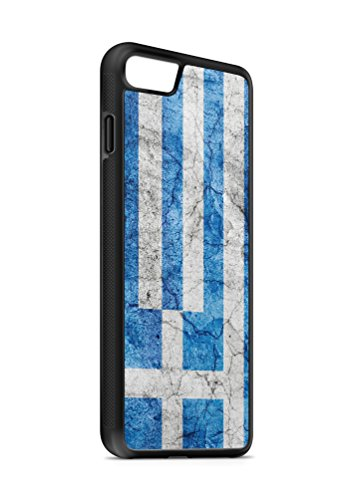 iPhone 6 PLUS 6s PLUS Griechenland Athen 3 SILIKON Flipcase Tasche Hülle Case Cover Schutz Handy