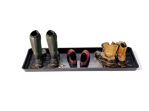 Gardeners Supply Company Large Boot Tray 46-1/2 L x 15-1/2 W and 2 Deep