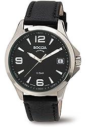 3591-01 Boccia Titanium Mens Watch