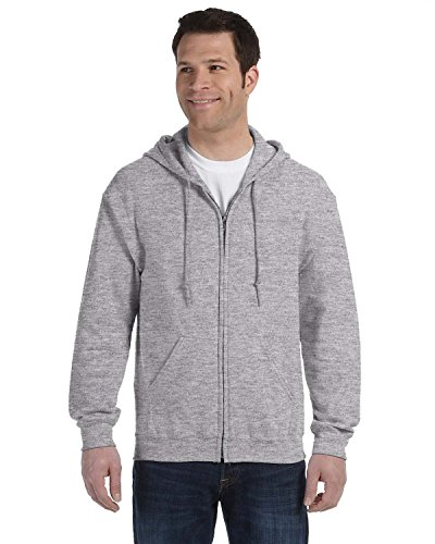 gildan-adult-heavy-full-zip-hooded-sweatshirt-sport-grey-large