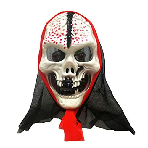 SKSNBMJ Halloween Horror Head Full Face Mask Blood Scary Mask Haunted House Dress Up Mask]()