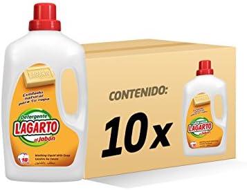 Lagarto Botella Detergente Lavadora Liquido - Al Jabón - 18 ...