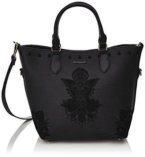 Desigual florida noir Negro mehndi Noir soft 17waxpcd sac r8wqETr