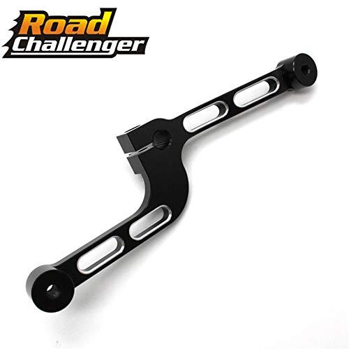 Footrest Shifter - Frames & Fittings for Harley Sportster XL 883 1200 48 72 Motorcycle Black Aluminum Gear Shift Lever Softer Footrest Shifter Peg