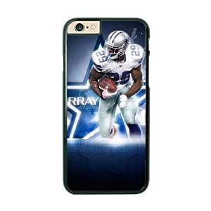 NFL Case Cover For Apple Iphone 6 4.7 Inch Black Cell Phone Case Dallas Cowboys QNXTWKHE1667 NFL Durable Design Phone