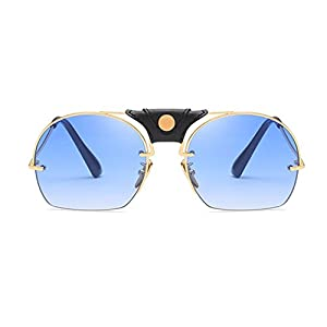 Limsea Sunglasses,Fashion Women Men Metal Integrated UV Sunglasses